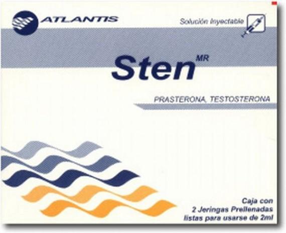 Sten (Testosteron / DHEA) 1